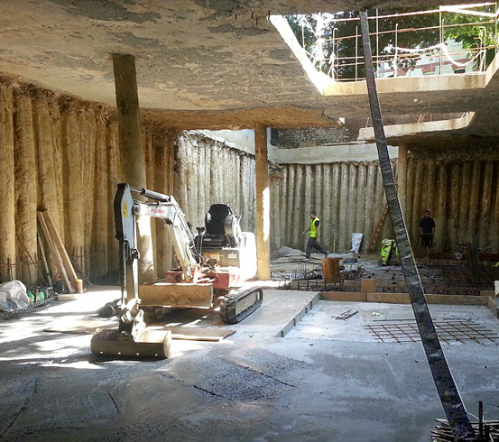 Permanent Fixes For Damp Basements: Massive Basement Waterproofing Project