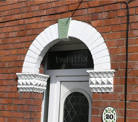 Brick Arch Repair