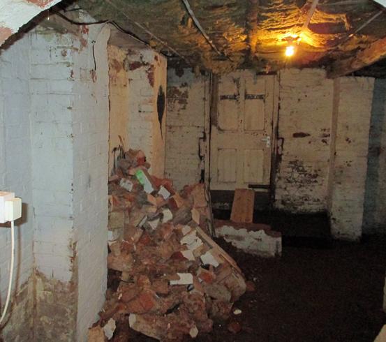 Cellar Conversion = Basement Waterproofing