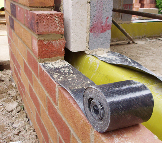 Damp Proof Material : Damp proof course twin pack