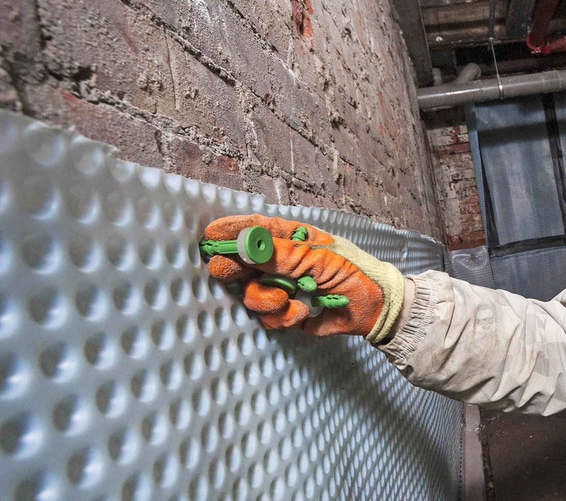Aquatex Damp Proofing Systems Waterproof Wall Paints: Basement Waterproofing And Cavity Wall Ties
