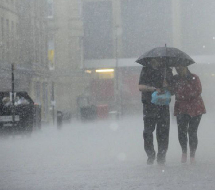 Heavy Rainfall in the UK