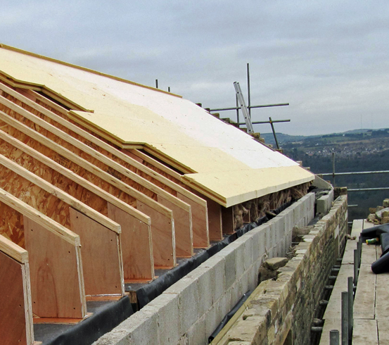 Warm Pitched Roof Insulation 12 300 About Roof