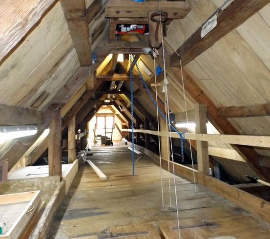 eling mill roof