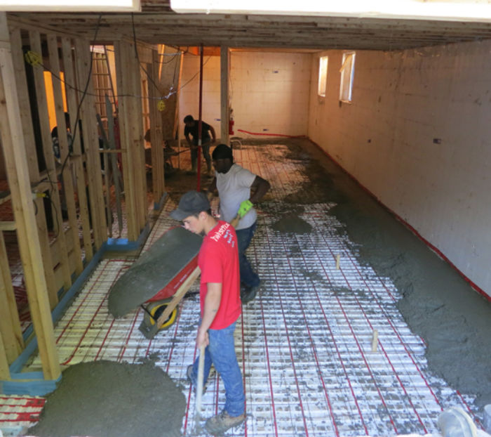 Pouring-Basement-Slab