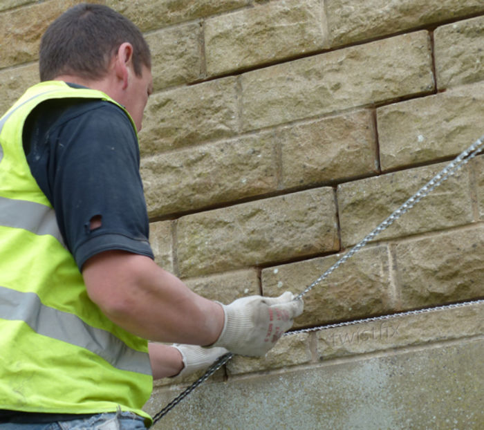 Repairing Cracked Brickwork | Stitching Bars