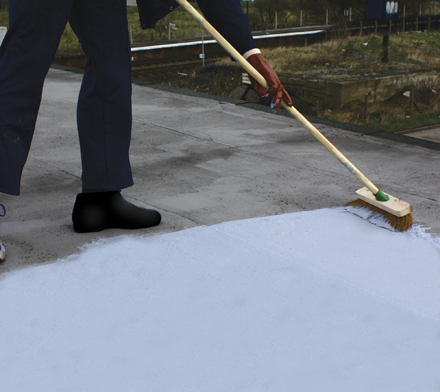 Roof sealant and flood prevention more october offers for Flat roof waterproofing paint