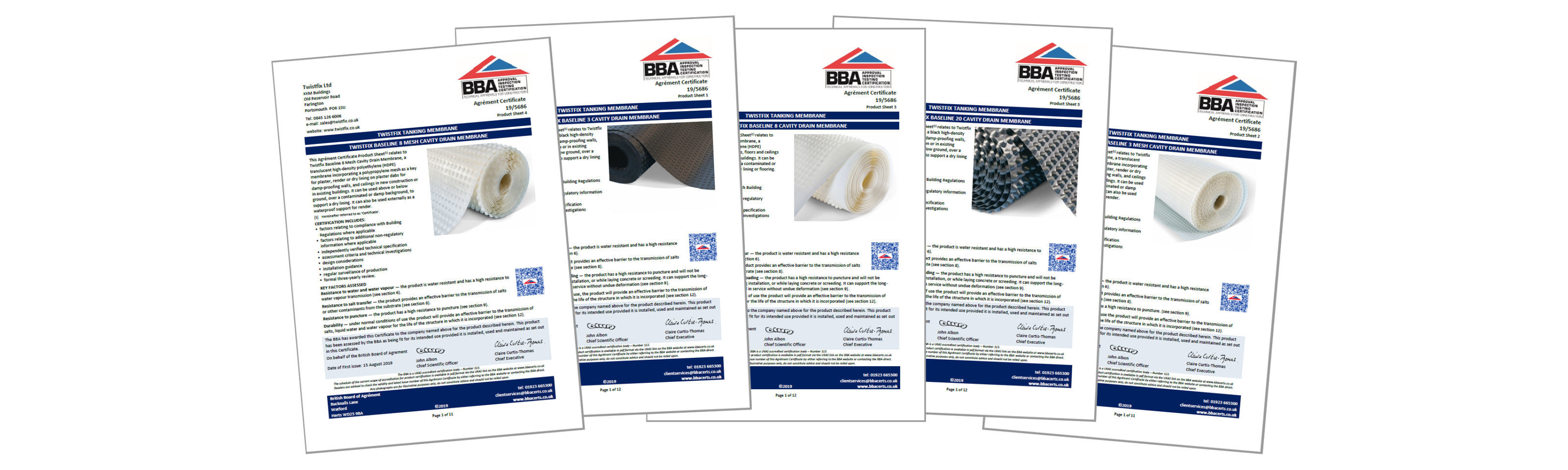 Baseline® Cavity Drain Membrane: Twistfix Celebrate BBA Certification