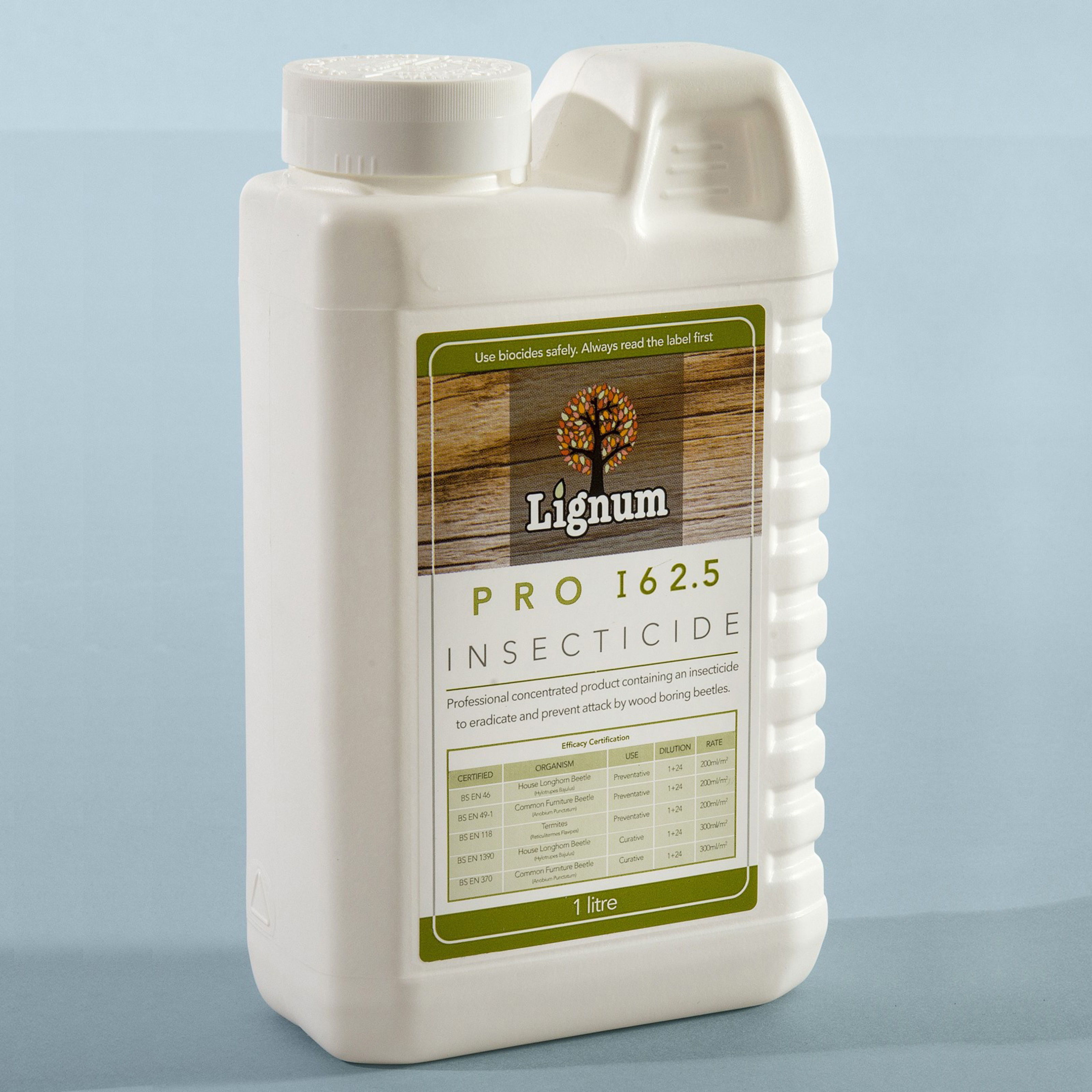 Lignum Pro I62 Woodworm Treatment Concentrate copy