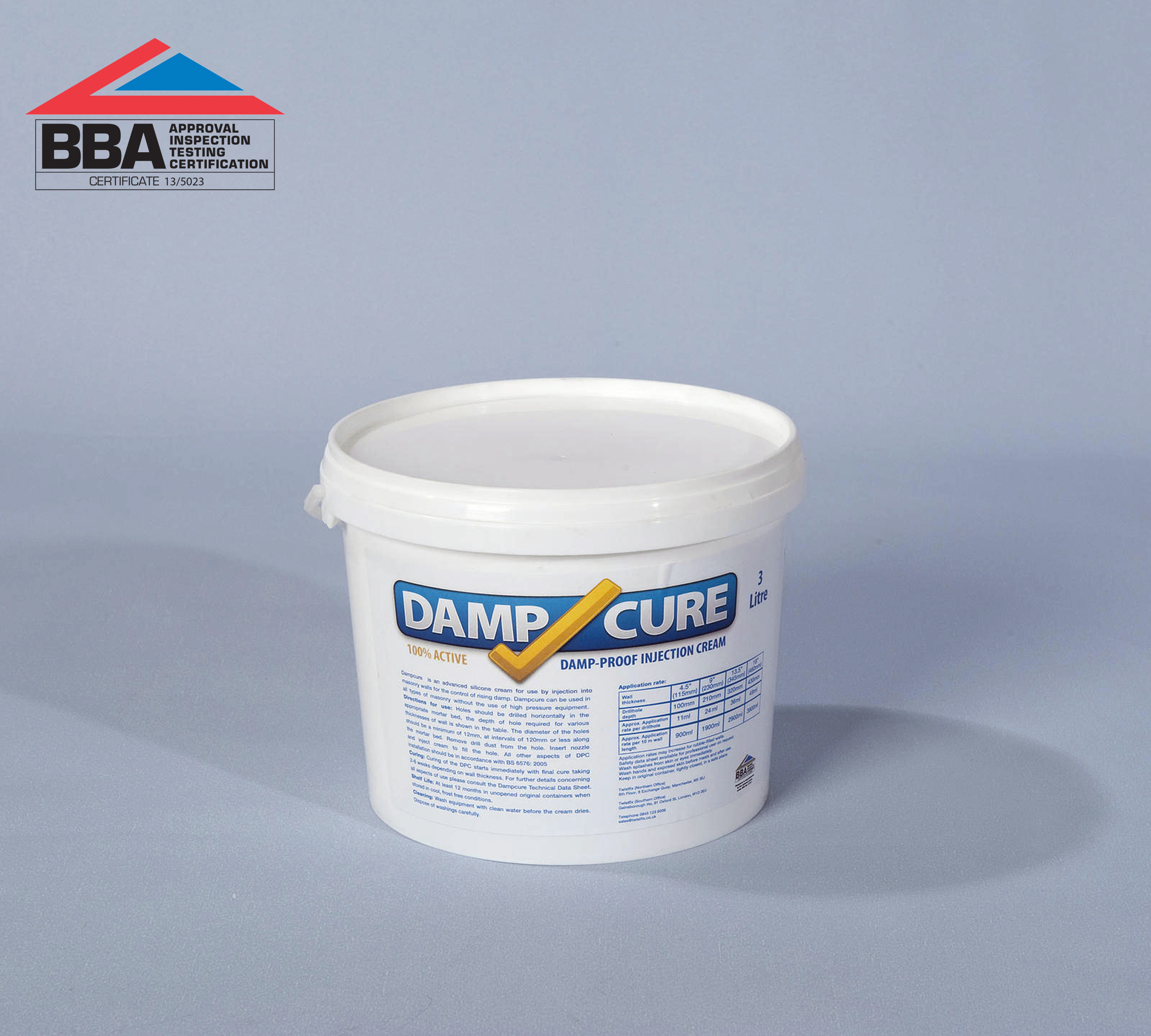 Rising Damp Treatment Damp-Cure 3000