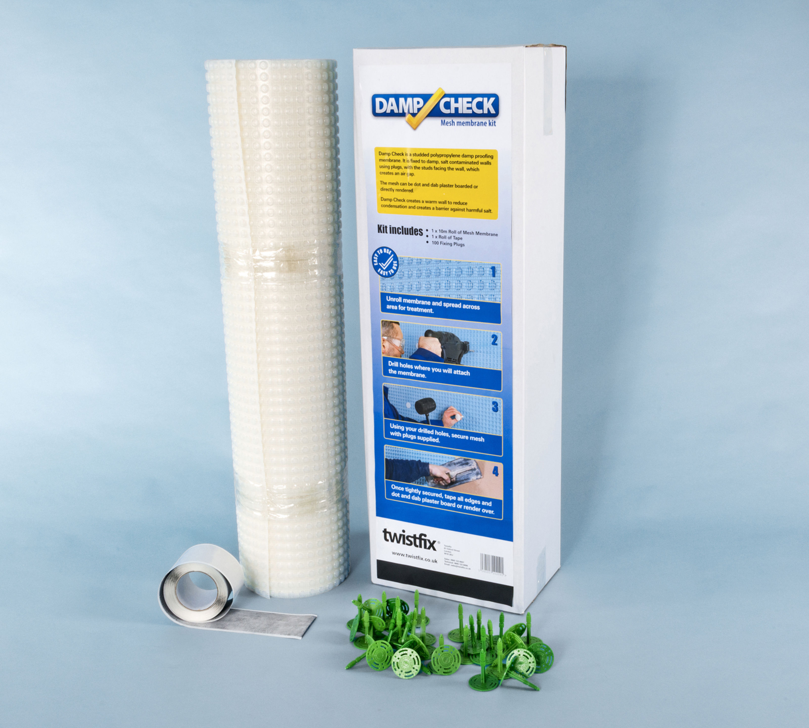 Damp Check – Mesh Membrane Kit