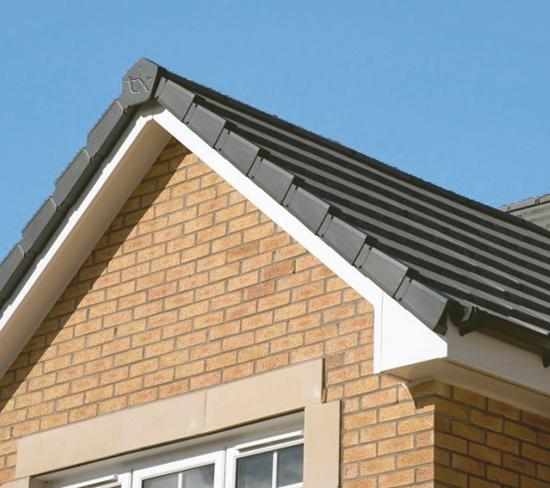 Apex Roof Ridge Tile End Mortar Free Universal Dry Verge Kit System inc Gable