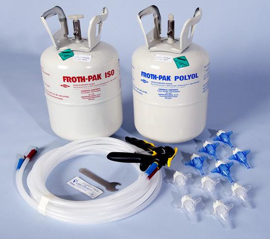 Spray Foam Insulation Kits - TWISTFIX