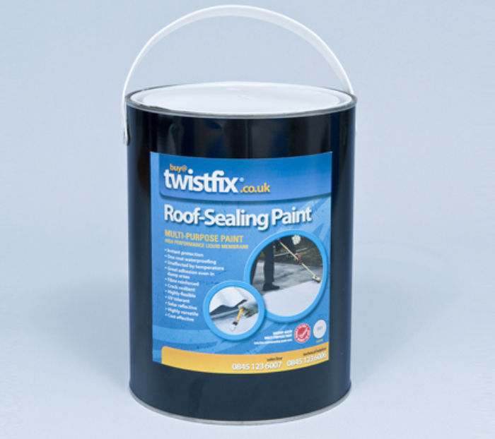 ROOF REPAIR - ROOF SEALING PAINT