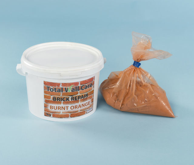 Brick Repair Mortar - Burnt Orange