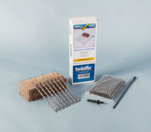 Helical Wall Ties 30 sq/m Kit