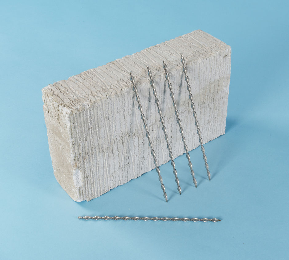 THIN JOINT MASONRY WALL TIES