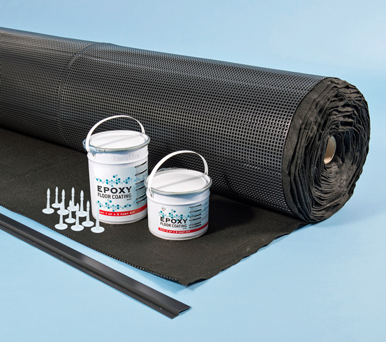 Basement Moisture Barrier Paint: Foundation Waterproofing Kit
