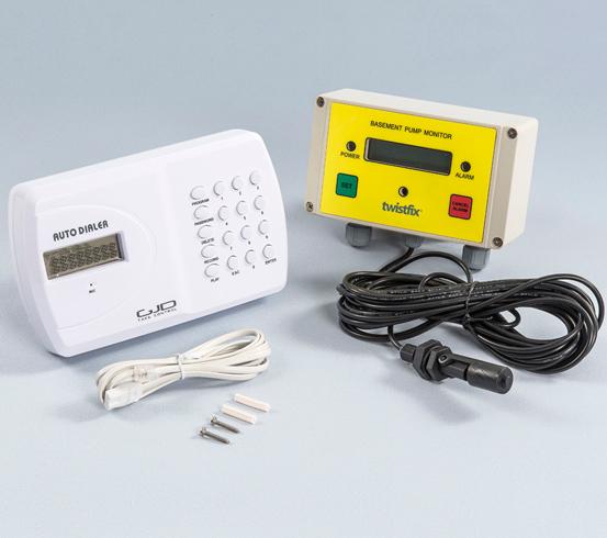 Sump Pump Monitoring System : Pump monitor and autodialer