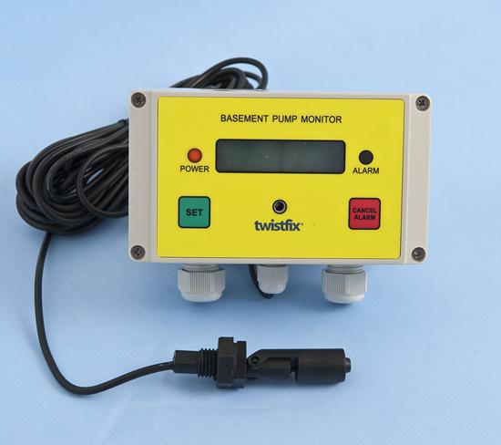 Sump Pump Monitoring System : Basement pump monitor
