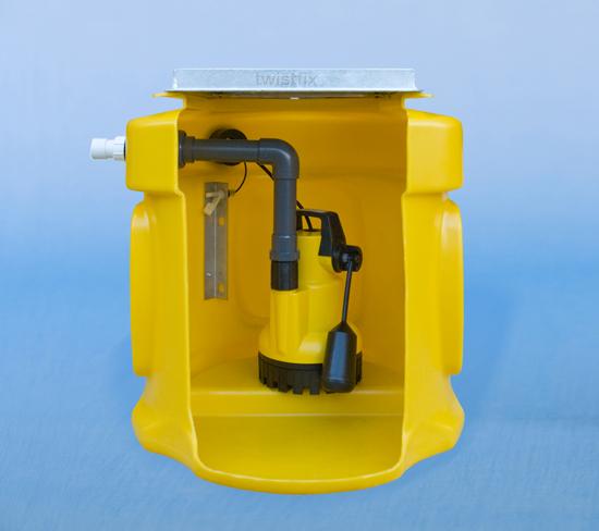 Pump Sump Kit Twistfix