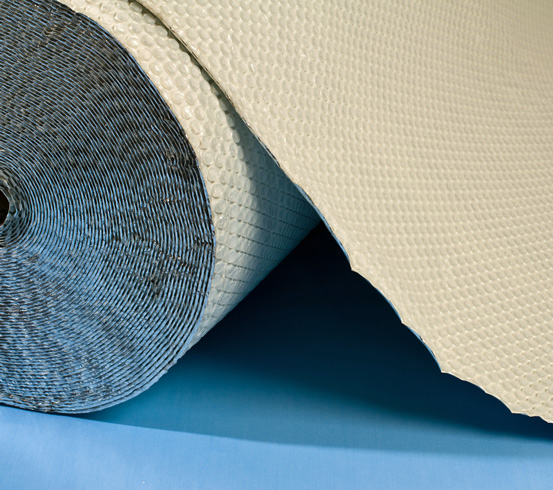Insulated Cavity Drain Membrane For Cellar Walls