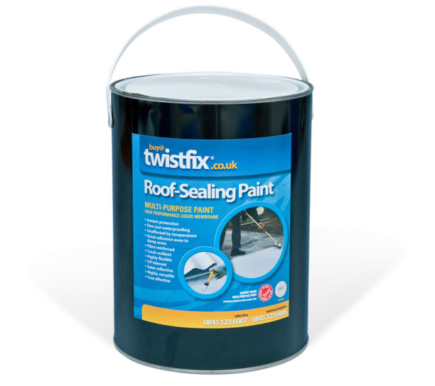 Roof Sealing Paint - Acrylic Coating