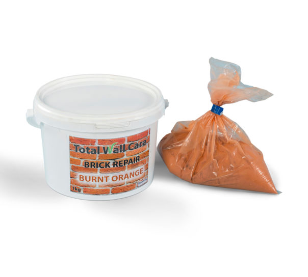 Burnt Orange Brick Repair Mortar