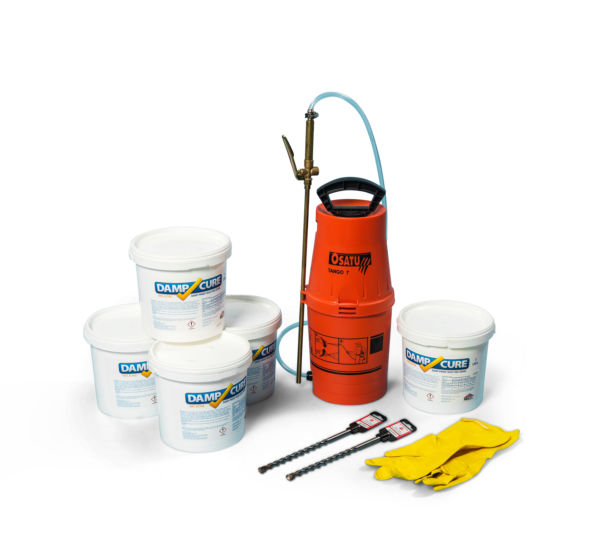 Damp-Proof Injection Kit 3000 Pro
