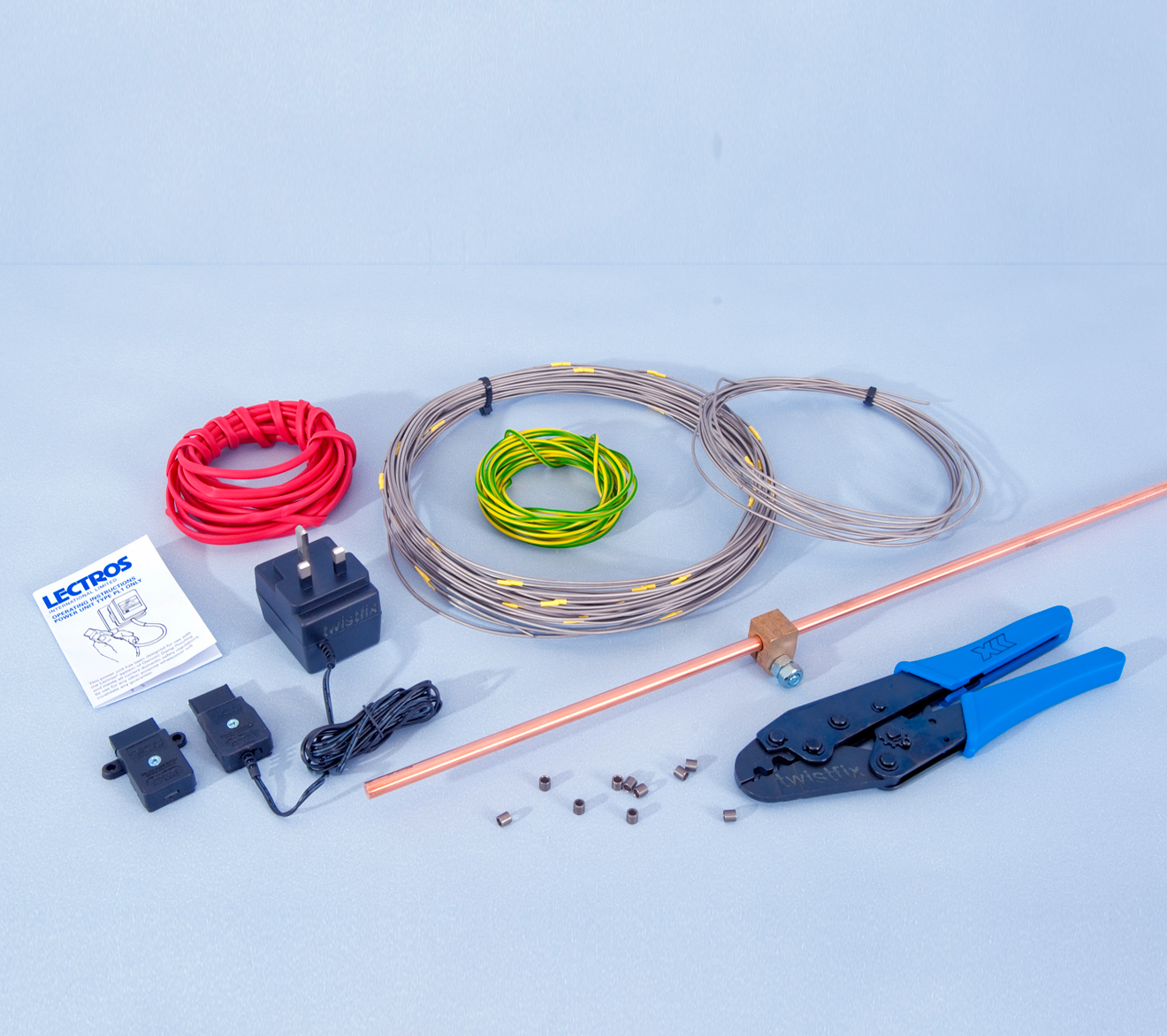 Electro Osmosis Damp Proofing Twistfix Electrical Wiring Uk Osmotic Standard Kit