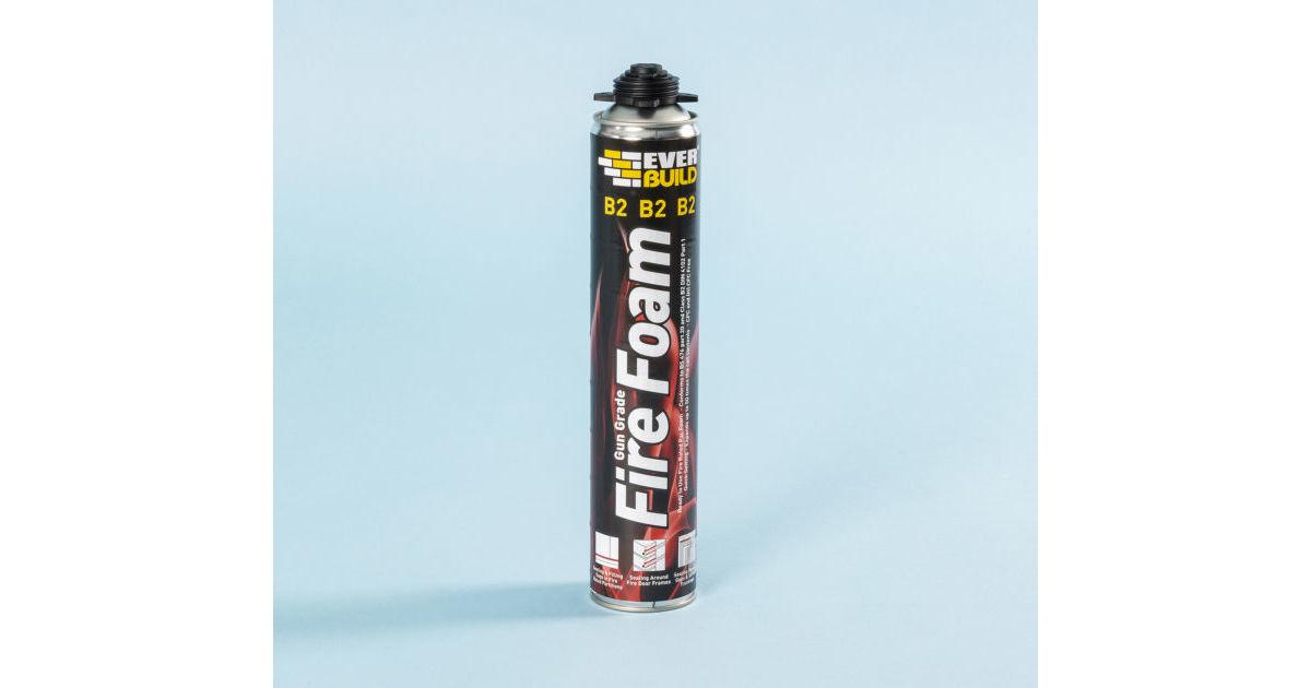 Fireproof Mortar Caulk : Fire foam b