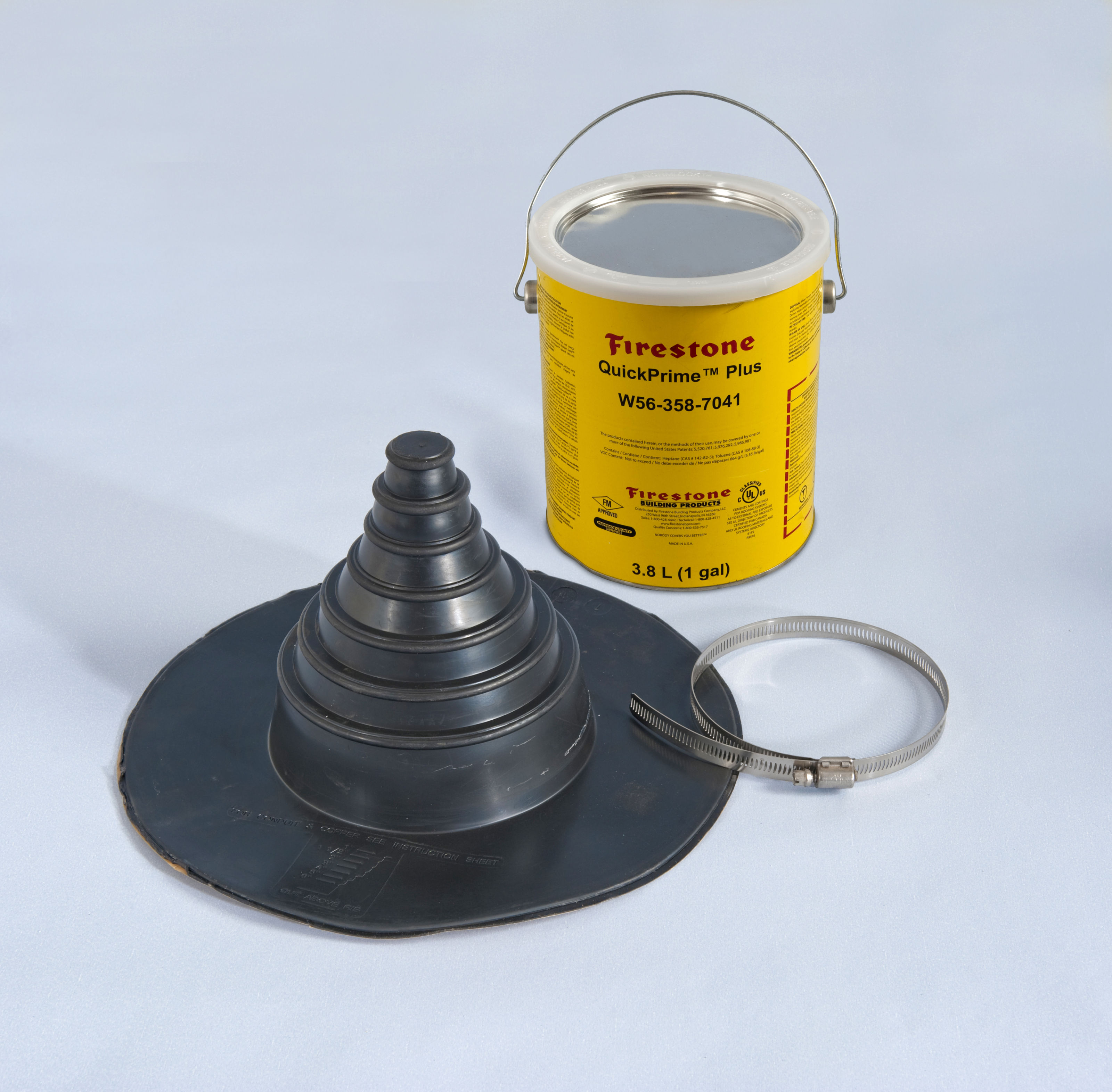 Rubber Flashing Twistfix Pipe Seal