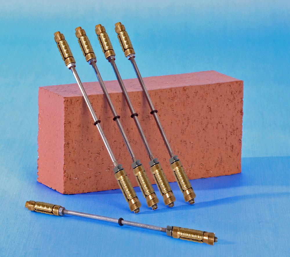 Mechanical Wall Ties Expanding Brass Shells
